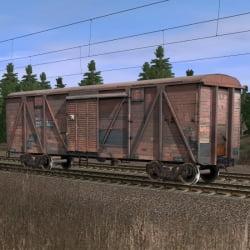 Крытый вагон 3