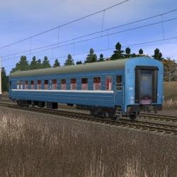 Пассажирский купейный вагон Брест - Санкт-Петербург