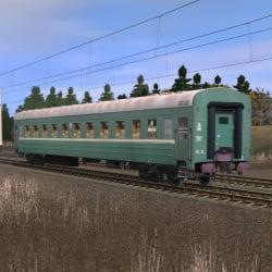 Пассажирский купейный вагон Великие Луки - Санкт-Петербург