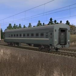 Пассажирский плацкартный вагон 2
