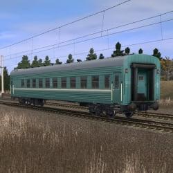 Пассажирский плацкартный вагон 3