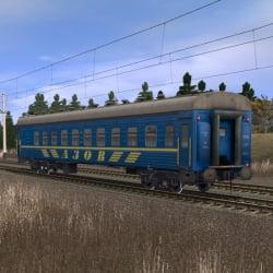 Пассажирский плацкартный вагон АЗОВ