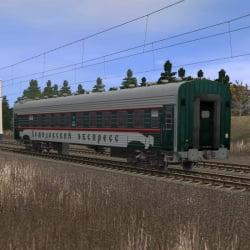 Пассажирский плацкартный вагон ДЕМИДОВСКИЙ ЭКСПРЕСС