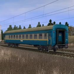 Пассажирский плацкартный вагон ЗАКАРПАТТЯ