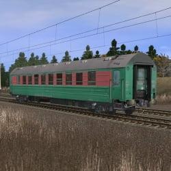 Пассажирский спальный вагон габарита РИЦ 2
