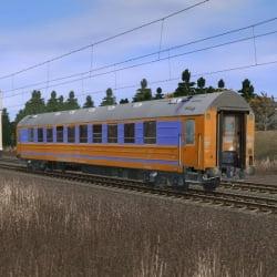 Пассажирский спальный вагон габарита РИЦ 3