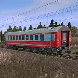 Пассажирский спальный вагон габарита РИЦ 4