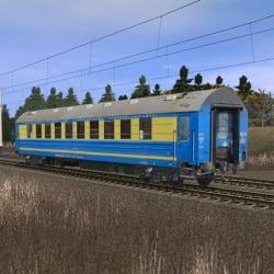Пассажирский спальный вагон габарита РИЦ