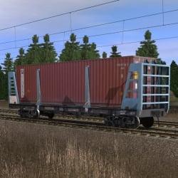 Платформа для перевозки контейнеров