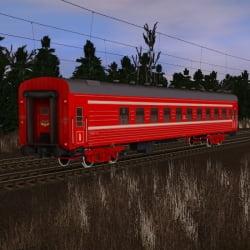 Пожарный пассажирский вагон №2
