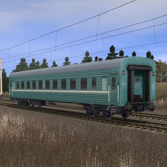 Пассажирский плацкартный вагон 7
