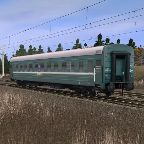 Пассажирский купейный вагон