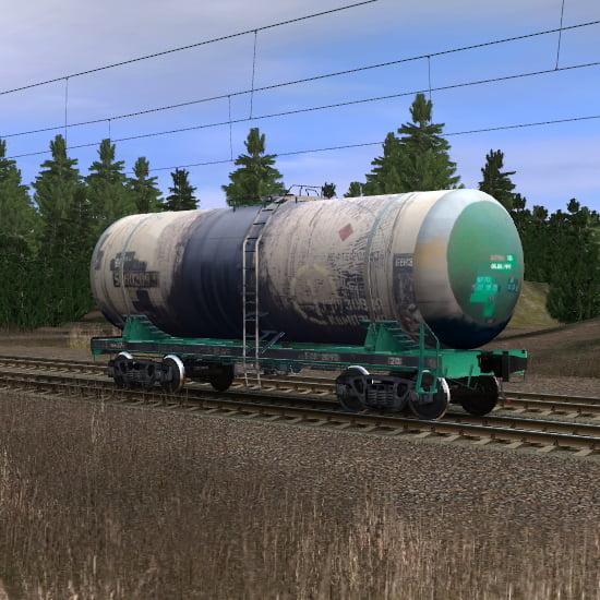 Цистерна Первая Грузовая Компания для перевозки бензина