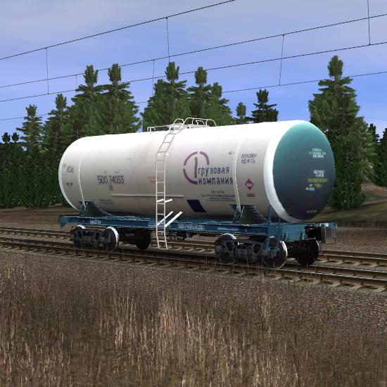 Цистерна Первая Грузовая Компания для перевозки бензина и нефти