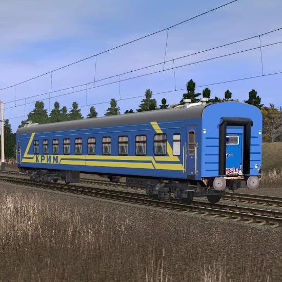 Пассажирский плацкартный вагон КРЫМ