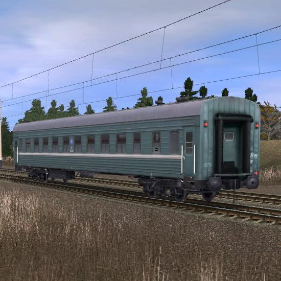 Пассажирский плацкартный вагон 6