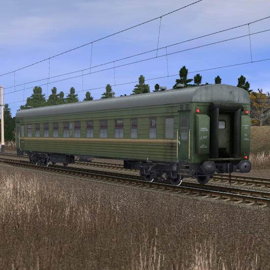 Пассажирский плацкартный вагон 5