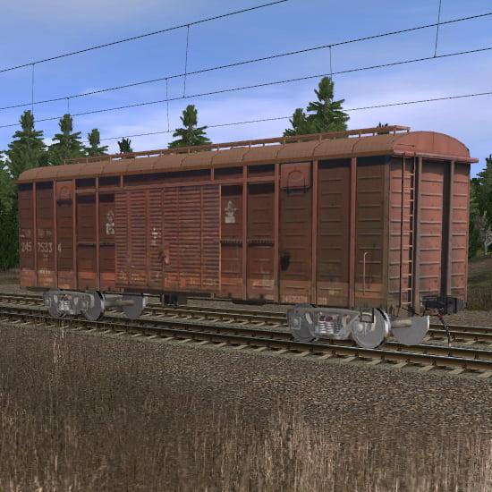 Крытый вагон 2